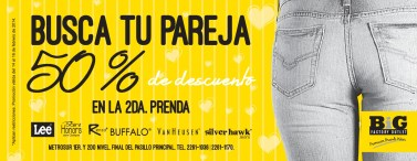Busca tu pareha BIG factory outlet - 14feb14