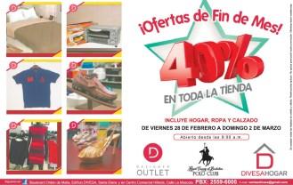 DIVESA hogar Designer Outlet OFERTAS de fin de mes - 28feb14