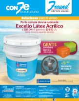 EXCELLO Latex Acrilico SHERWIN WILLIAM promocion FREUND el salvador