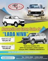 GLOBAL Automotriz venta AUTO Lada Niva 4x4
