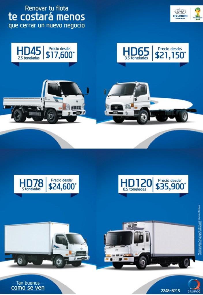 hyundai truck series grupo q el salvador ofertas ahora. Black Bedroom Furniture Sets. Home Design Ideas