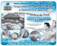 Hotel SABAS Beach Resort el salvador san valentin 2014