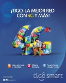 Internet Musica Smartphone Red 4G TIGO el salvador - 04feb14