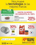 Interstate batteries max Life Valvoline ECONO PARTS - 24feb14