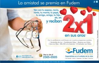 La amistad se premia en FUDEm promocion 2x1