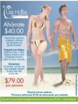 Las Hojas Resort Beach club paquetes de ahorro - 25feb14