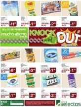 Mucho ahorro KNOCK OUT de precios SUPER SELECTOS - 20feb14