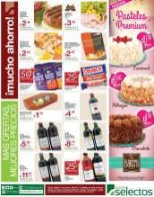 NUevos Pasteles Premium Bakery SUPER SELECTOS - 13feb14