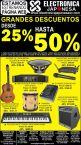 Ofertas instrumentos grandes descuentos Electronica Japonesa - 28feb14