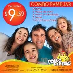 POLLO EXPRESS Combo familiar