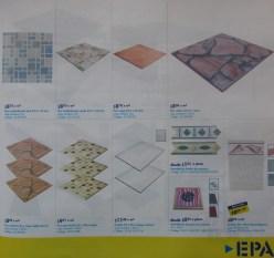 Piso ceramico duchas azulejo likstelos EPA construccion - feb 2014