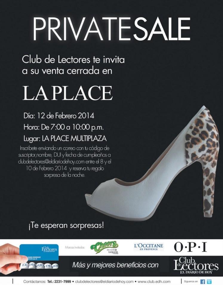 Private Sale OPI shoes club de lectores - 08feb14