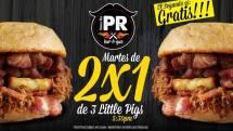 Puerco Rico El Salvador martes 2X1 Little pigs - 25feb14