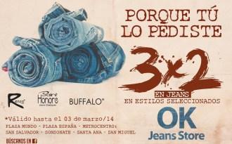 RENZO saint honore BUFFALON OK jeans store - 28feb14