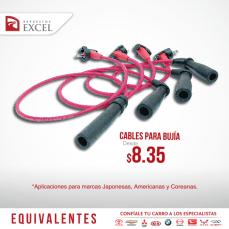 Repuestos excel cable para bujias - marca japonesa