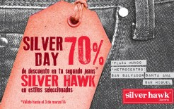 SILVER DAY discounts JEANS silver hawk - 28feb14