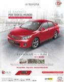 Toyota Corolla el salvador el favorito de todo el mundo - 05feb14