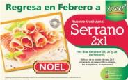 Tradicional JAMON Serrano NOEL Kreef el salvador - 26feb14