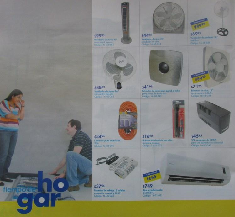 Ventiladores y Aires Acondicionados EPA ofertas  - feb 2014