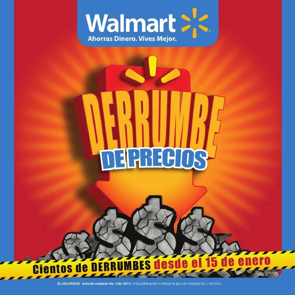 Walmart Derrumbre de Precios guia de compras no3 Febrero 2014