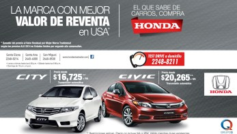 comprar auto USA Honda Civic Honda CITY