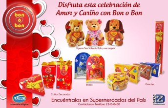 dulcen y chocolates ARCON BON o BON