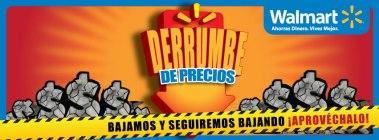 promocion Derrumbre de precios WALMART el salvador - 03feb14