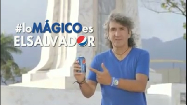 video Messi PEPSI Lo Magico es El Salvador