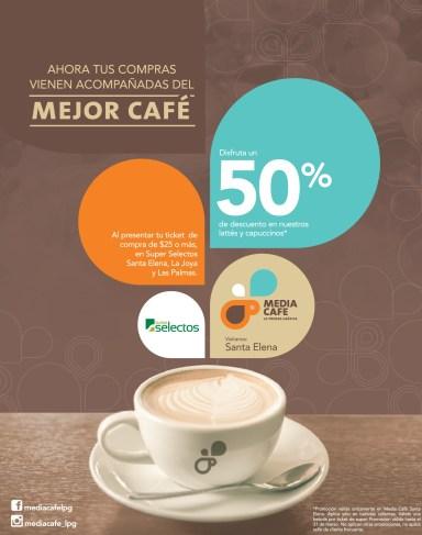 Ahora tus compras acompañadas del mejor MEDI CAFE santa elena - 04mar14