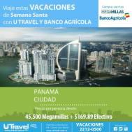 Banco Agricola viajas con millas a Panama