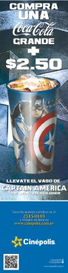 CINEPOLIS capitan america movie