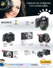 Camara DIGITAL SONY facil oferta LA CURACAO - 01mar14