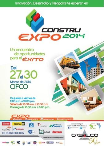 Constru Expo 2014 el Salvador