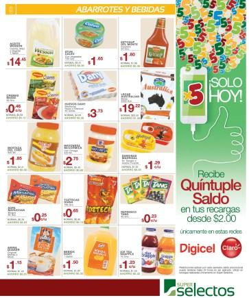 Disfrutas de tus compras SUPER SELECTOS supermercado - 14mar14