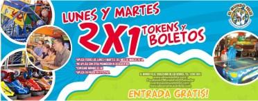 EL Mundo Feliz El Salvador LUNES Y MARTES promocion 2x1