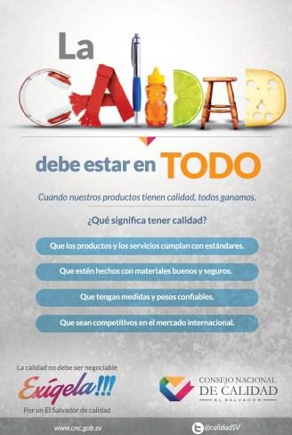 El Salvador de CALIDAD consejo nacional de calidad - 04mar14