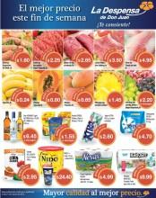 El mejor precio FIN DE SEMANA ofertas despesa de don juan - 28mar14