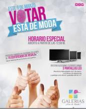 Galerias votar 9 marzo participas en RIFA 3 Led