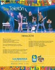 Himno Teleton 2014 el salvador