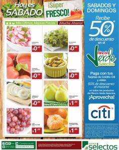 Hoy es SABADO super fresco SUPER SELECTOS ofertas - 15mar14