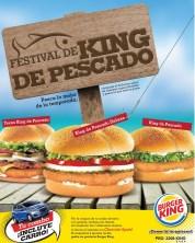 Hoy viernes KING DE PESCADO gracias a burger king - 21mar14