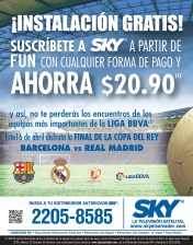 INSTALACION gratis television satelital SKY sv - 24mar14