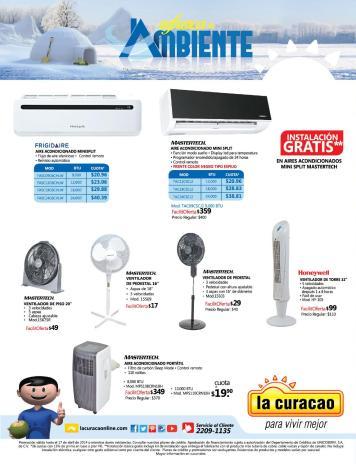 La Curacao SV promociones de verano REFRESCATE ventiladores y aires - page 8