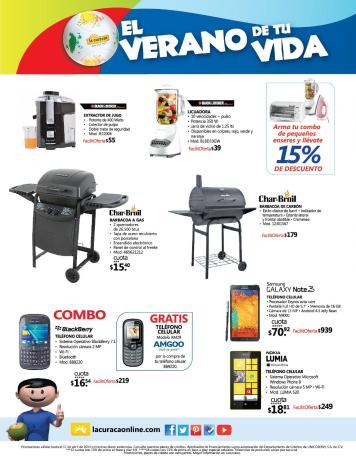 La Curacao SV promociones de verano smarthones parrillas - page 6