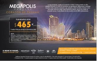 MEGAPOLIS complex ciudad de panama VACACIONES