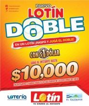 Nuevo LOTIN DOBLE loterial el salvador - 31mar14