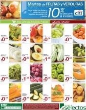 Ofertas de Super Selectos Martes de Frutas y Verduras - 18mar14