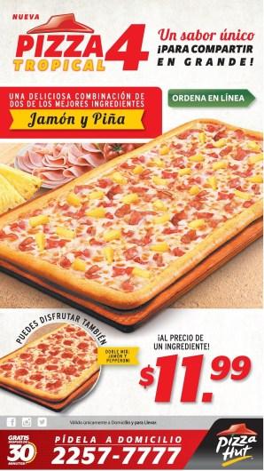 Ordena ONLINE Pizza Hut el salvador sabor unico - 21mar14
