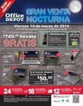 PROMOCION Office Depot EL SALVADOR venta nocturna