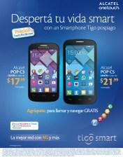 Precios bajos ALCATEL smartphone TIGO sv - 27mar14